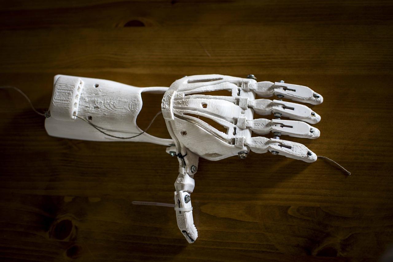 3D tisk umělé paže