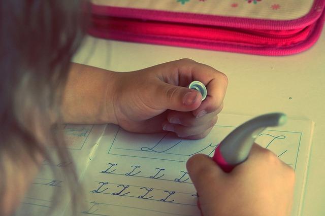 psaní do písemky