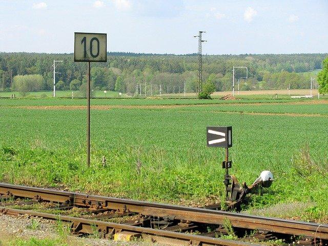 železniční trasa
