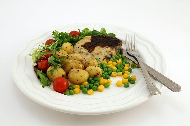 grilovaný pokrm